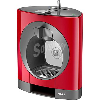 Krups Oblo KP1105 cafetera capsulas Dolce Gusto en color rojo