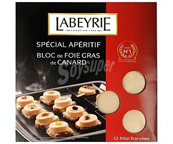 Labeyrie Foie gras de pato, en 12 mini-bloques 90 gramos