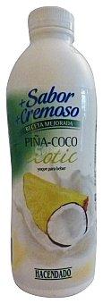Hacendado Yogur liquido coco piña exotic Botella 1 kg