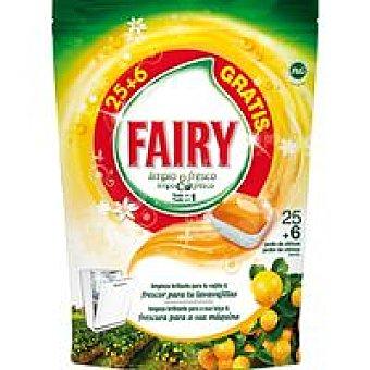 Fairy Lavavajillas máquina Fresh naranja Botella 25+6 dosis