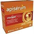 Jalea real vitaminada vitalidad caja 18 viales Apiserum