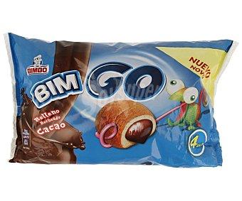 Bimbo Bollito relleno de chocolate 160 gramos