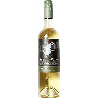 BESO DE VINO Vino blanco macabeo D.O. Cariñena Botella 75 cl