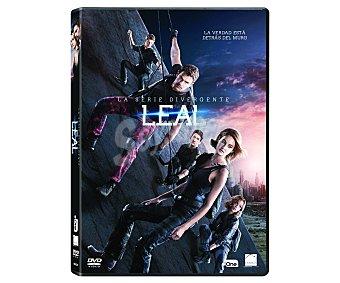 CIENCIA FICCIÓN Dvd Leal parte 1, serie Divergente 3, 2016. Género: ciencia ficción, juvenil. Edad: +12 años 3, Leal