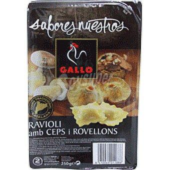 Gallo RAVIOLI SETAS-ROBELLON 250 GRS