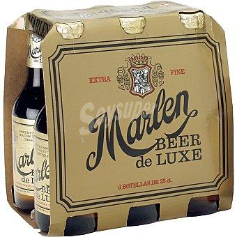 Marlen Cerveza extra Pack 6x25 cl