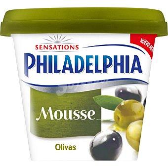 PHILADELPHIA Mousse de queso con sabor a olivas  envase 154 g