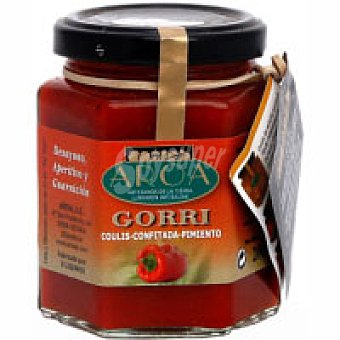 Aroa Coulis tomate pimiento rojo Tarro 200 g