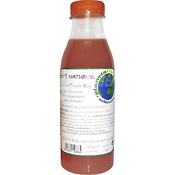 Planeta verde Zumo de pomelo rojo 100% natural Botella 500 ml