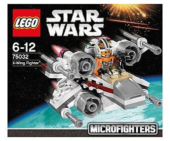 LEGO Juego de construcción Stars Wars, nave espacial microfighter X-wing fighter, Modelo 75032 1 unidad