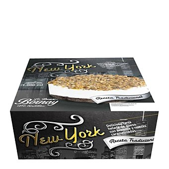 Bornay Tarta New york helada de queso con brownie y nueves 1 kg