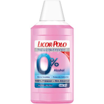 Licor del Polo Enjuague 0% alcohol Botella 500 ml