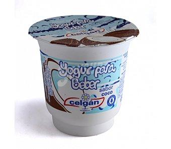 Celgan Yogur para beber sabor a coco 125 gr