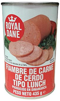 Royal Dane Lunch cocido pieza conserva Lata 435 g