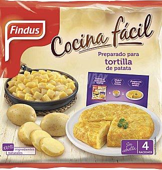 Findus Preparado parara para tortilla sin cebolla 550 G