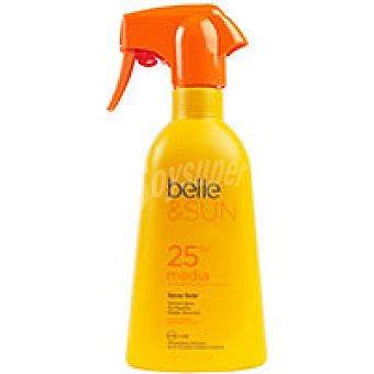 Eroski Solar F25 belle&sun Spray 400 ml