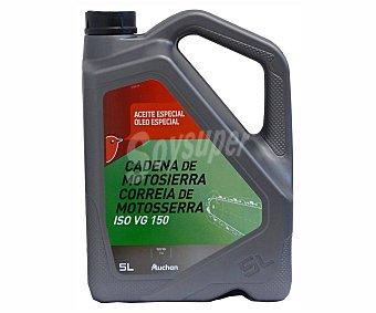 PRODUCTO ALCAMPO Aceite especial para cadena de motosierra 5 litros