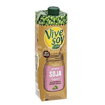 PASCUAL VIVESOY bebida de soja ligera 100% vegetal  envase 1 l