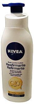 Nivea Leche corporal reafirmante Q10 plus botella blanca (dosificador) Botella 400 cc