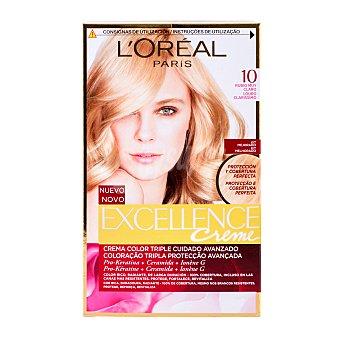 Excellence L'Oréal Paris Tinte coloración Crème Triple Protección rubio dorado nº 7.3 Caja 1 ud