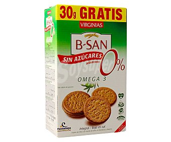 Virginias Galletas Omega 3 sin Azúcares Añadidos  360 gr