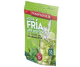Pompadour Té verde con hierbabuena 20 unidades 40 gramos