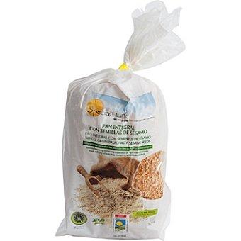 Special Line pan integral biológico en rebanadas con sésamo  envase 500 g