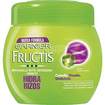 Fructis Garnier FRUCTIS mascarilla Hidra-Rizos cabello rizado u ondulado  tarro 400 ml