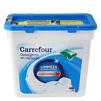 Carrefour Detergente en cápsulas para máquina 30 ud