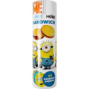 DESPICABLE ME Maxies Sandwich Minions galletas rellenas de chocolate Paquete 240 g
