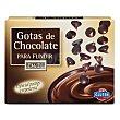 Gotas de chocolate para fundir Caja 250 g Hacendado