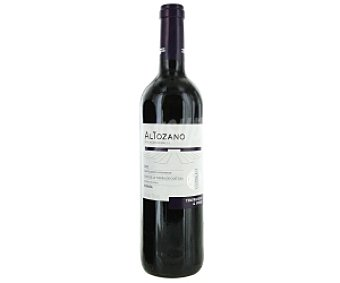 ALTOZANO Vino tinto de la tierra de Castilla tempranillo Botella de 75 Centilitros