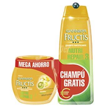 FRUCTIS Mascarilla Nutri Repair 3 tarro 400 ml