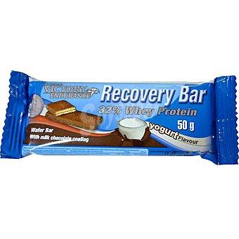 VICTORY ENDURANCE Recovery Bar wafer de proteinas sabor chocolate con leche y yogur envase 50 g