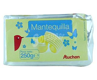 Auchan Mantequilla sin sal 250 gramos
