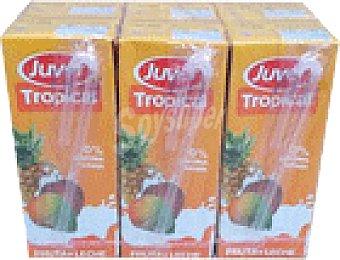 Juver Fruta-leche juver tropical 6 ud x 20 cl