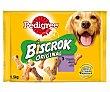 Galletas crujientes de tres sabores distintos para perros adultos 1,5 kg Pedigree Biscrok