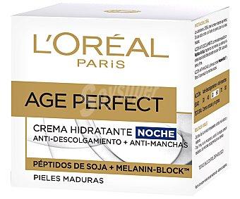 Age Perfect L'Oréal Paris Renacimiento Celular - crema de noche reconstituyente piel radiante tarro 50 ml