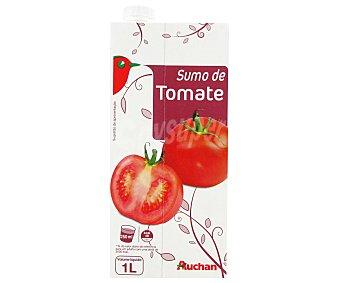 Auchan Zumo de tomate Brick de 1 litro