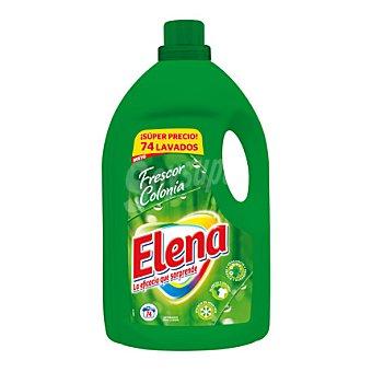Elena Detergente líquido frescor colonia 74 lavados