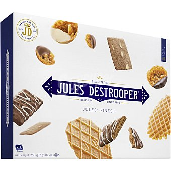 Jules destrooper Galletas surtidas Jules Finest estuche 250 g estuche 250 g