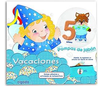 ALGAIDA Vacacaciones  Pompas de Jabón 5 1 Unidad