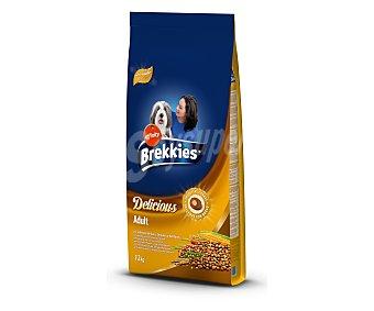 Brekkies Affinity Alimento completo de aves, cereales y verduras para perros adultos 12 kilogramos