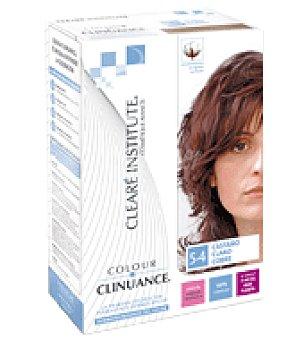 Color Clinuance Color Clinuance 5.4 Castaño claro cobre Tubo +botella con aplicador +flopa