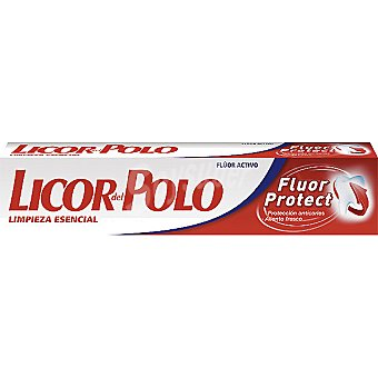 Licor del Polo Pasta dentífrica Fluor Protect limpieza esencial Tubo 75 ml
