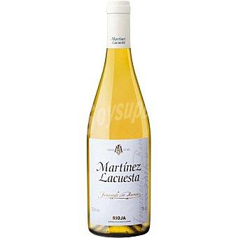 Martínez Lacuesta Vino blanco fermentado en barrica D.O. Rioja botella 75 cl botella 75 cl