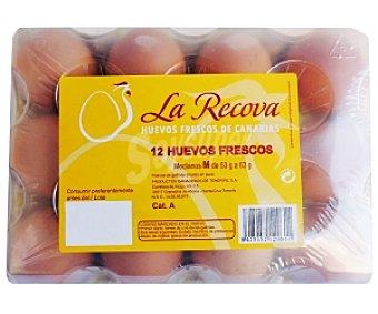 LA RECOVA Huevos Clase M 12 Unidades