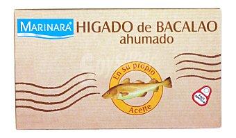Marinara Hígado bacalao ahumado Lata de 85 g