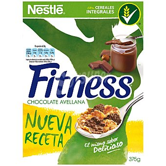 Nestlé Cereales fitness chocolate avellana Paquete 375 g