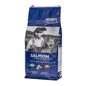 Retorn Adult pienso natural para perros adultos con salmón de los fiordos noruegos sin cereales Bolsa 1,5 kg